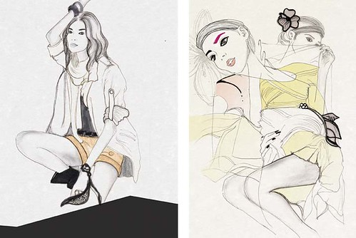 vogue poses by Rachel Clare Price