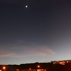 from home (Luis Eduardo ) Tags: moon home night stars nocturnal pano panoramic luismosquera