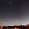 from home (Luis Eduardo ®) Tags: moon home night stars nocturnal pano panoramic luismosquera