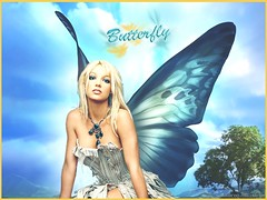 butterfly brit (BETHGON blends) Tags: flickr princess spears pop princesa britney blend bethgon