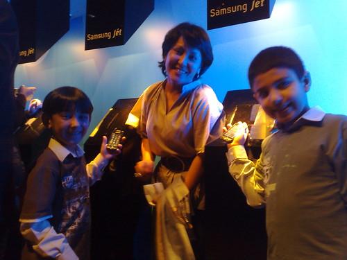[Samsung Jét] Momento Mãe com filhos por você.
