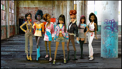 Team-Barbie (aneky43251) Tags: dolls barbie grace madison crew africanamerican sets girlgroups livingdolls dollclothing crewz fashiondolls myscenemadison blackdolls trichelle barbieoutfits milanbarbie birthstonebarbie barbiemyscene aadolls africanamericandolls dallascowboycheerleaderbarbie soinstylebarbie sistrichelle aneky43251