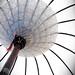 white umbrella...