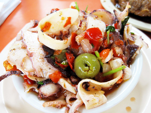 octopus salad @ margon