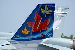 CAF F-18 tail art DSC_0758 (akirkfoto) Tags: airplane nikon tn bigma airplanes sigma 2006 airshow d100 50500mm tullahoma nikonsigma akirkfoto tullahomaairshow adamkirkphotography