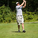 Charlestown Barn Captain Pat Hogan Teeing Off