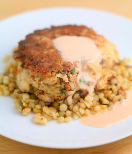Ginger Lime Dungeness Crab Cake