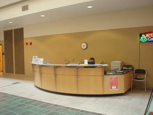 Second Circulation Desk