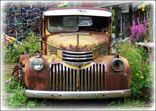 1946 Chevy Pick-Up Truck Rusted
