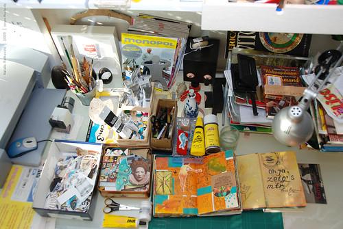 Creative tools, work space