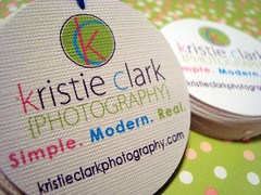 kristie clark photography - hang tags & labels