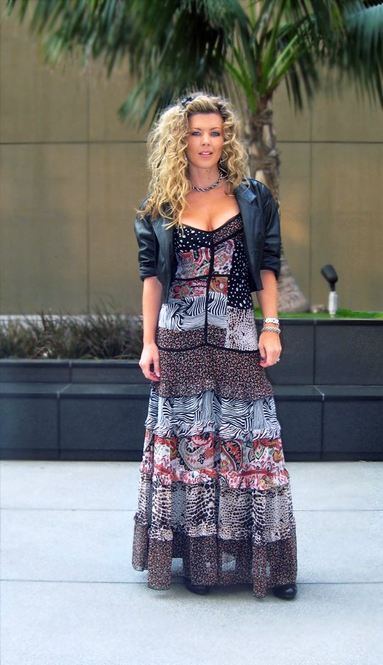 bebe-long-maxi-animal-print-floral-dress-leather-8