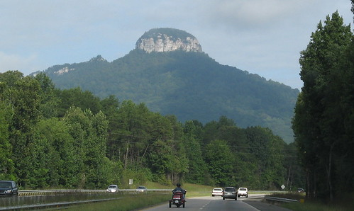 Summit trails at Pilot Mountain State Park, North Carolina