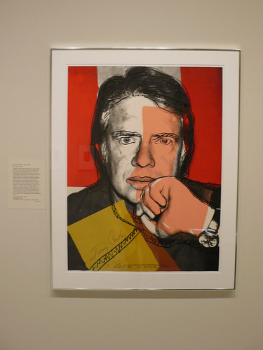 Carter by Warhol, National Portrait Gallery, Washington DC
