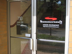 New Summersault office entrance