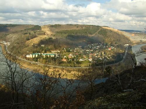 Vltava river valley