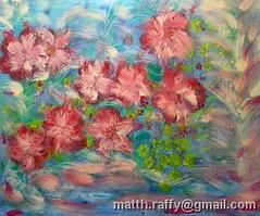 Flowers along the river (M.Raffy) Tags: matthieu peinture raffy