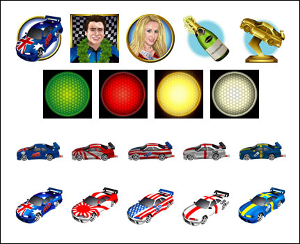 free Green Light slot game symbols