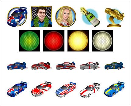 free Green Light slot game symbols