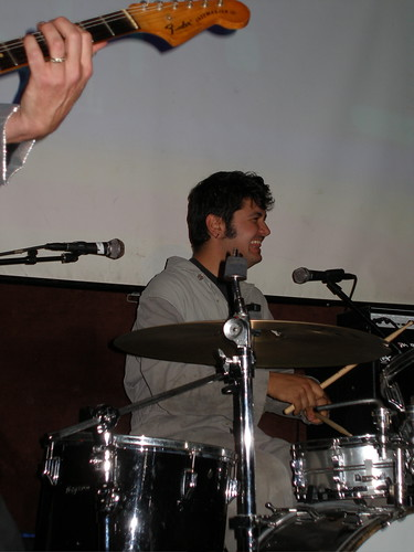 Grommet X on Drums