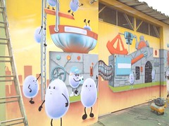 clagel (cesar_pinturas) Tags: art mural decorpainting pintura gaffitti grafiti egg ovo industia faixada clagel quartodecriana pinturaemquartodecriana paineldefesta cesarvanray fifieosfloringuinhos mogidascruzes decoraoinfantil aerografo airbrush pinturaspersonalizadas painel kidsquartoszipnet kids encomendas