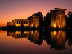 Madrid - Templo de Debod (Harshil.Shah) Tags: madrid españa de spain ancient egypt egyptian templo debod templodedebod