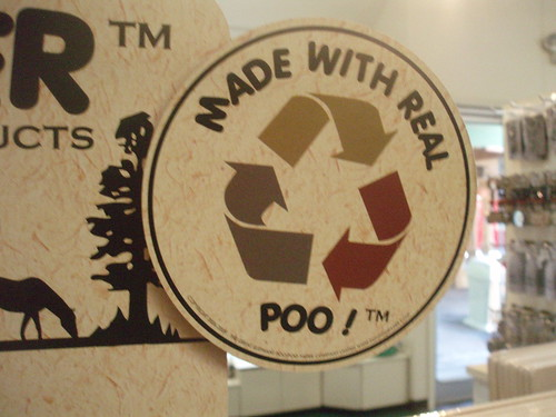 Made with Real Poo!