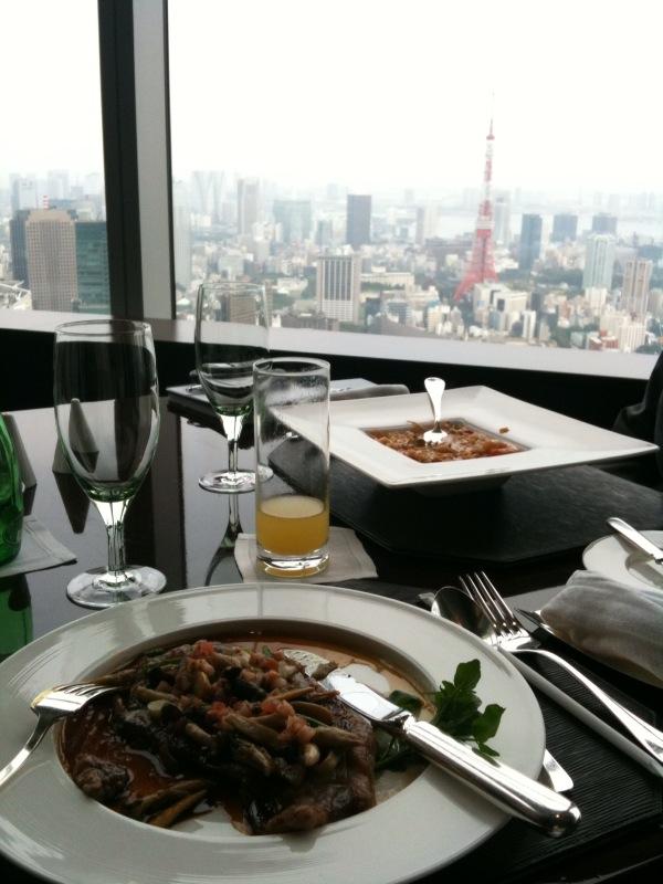 Ritz-Carlton Tokyo Lunch
