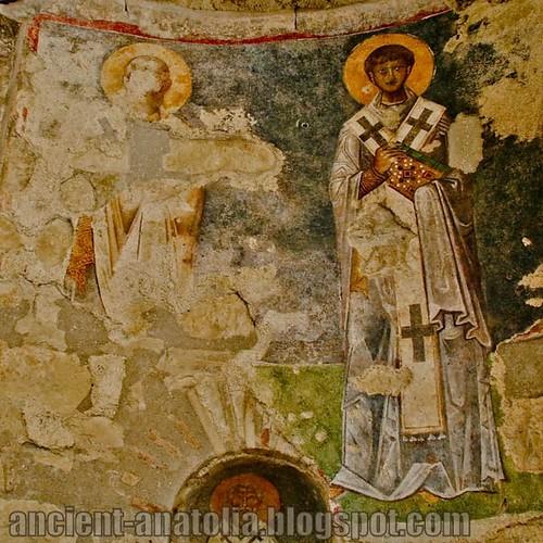 Fresco in the Church of St. Nicholas at Myra