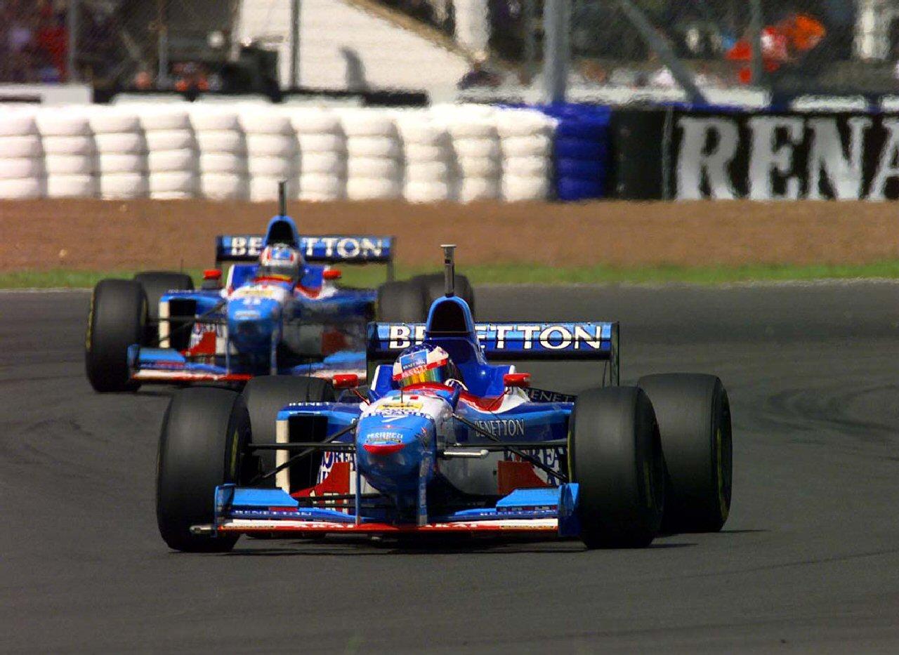 Benetton, equipe histórica da Formula 1 de 1997 - by nejkoblog.blogspot.com