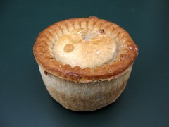 A whist pie (davekpcv) Tags: uk england food english pie crust geotagged meat pastry delicacy wigan piecrust meatpie whist whistpie