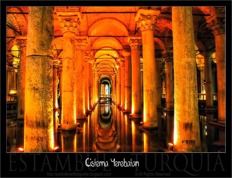 Cisterna de la Basílica (Yerebatan Sarayi) - Estambul