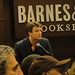 Rick Nobles|Richard Castle Heat Wave book signing - Nathan Fillion (Castle) signs for fans
