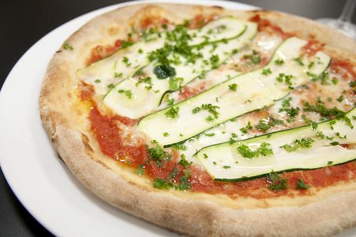 ズッキーニとトマトのピッツァ, Il Pensiero 3, 新宿伊勢丹 イタリア展