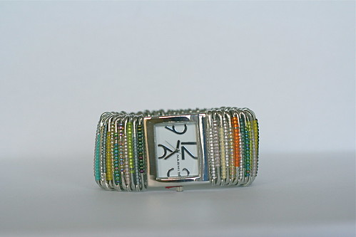 Bright and Colorful Safety Pin-Watch