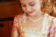 Venetian Princess (Bunches and Bits {Karina}) Tags: halloween smile diamonds lashes princess sweet venetian jewels royalty
