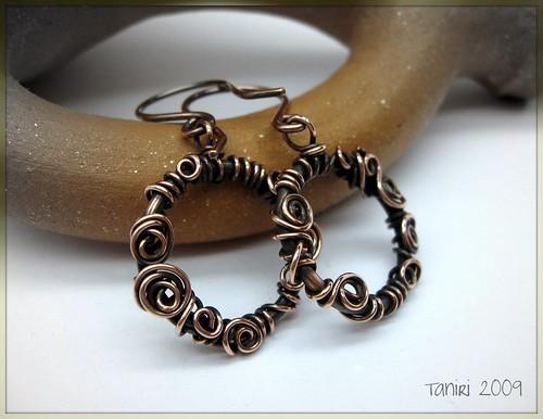 curlicues?earrings