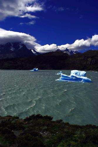 Viande. Ghiacciaio, parco nazionale Torres del Paine, Chile. Foto di Massimo Di Terlizzi