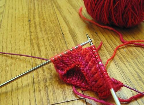 Knitting Stitches K1tbl : Twist it, baby Glenna Knits
