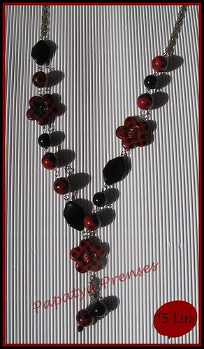 kırmızı siyap papatya