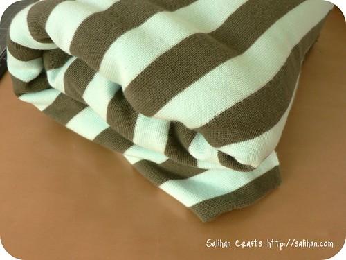 Stripey Stretch Fabric