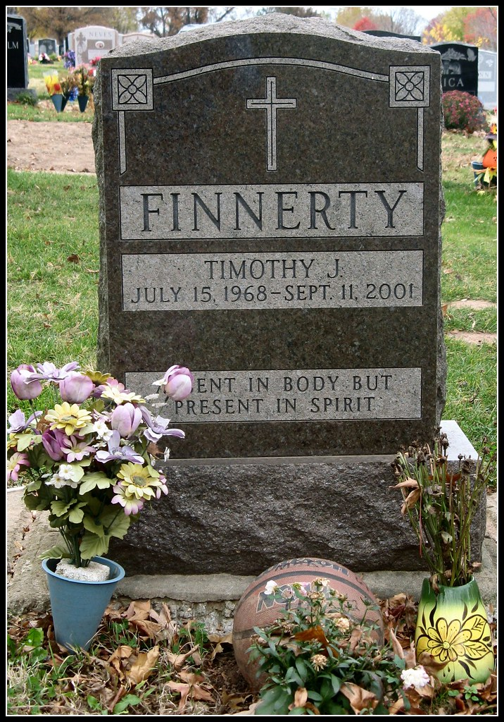 Timothy Finnerty died Sept 11, 2001