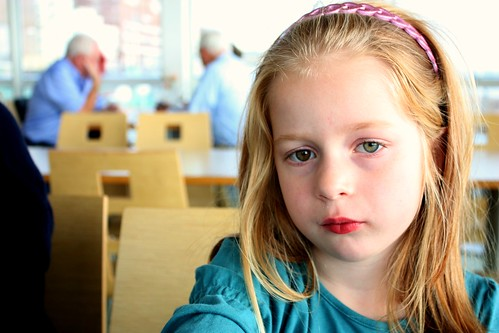 What on earth could make a first-grader so contemplative? Do tell.
