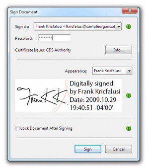 Digitally Signing PDF Documents Using Adobe Acrobat 9*: An Introduction_3