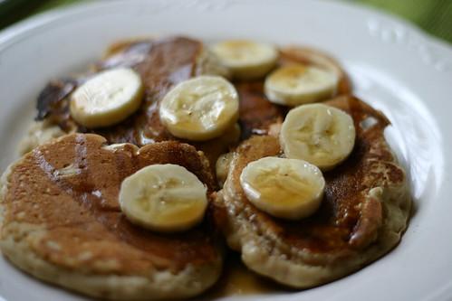 Homemade Banana Walnut Pancakes - 1