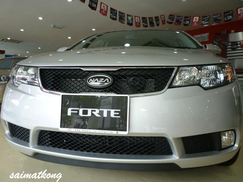 Kia Forte - Bright Silver