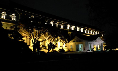 Night shot:Tokyo National Museum