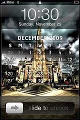 iPhone Calendar - December 2009 (|sumsion|) Tags: architecture clouds photoshop landscape scotland nikon calendar background may free handheld 2009 trossachs hdr robroy mycal lightroom iphone bracketing sigma1020mm robroymacgregor d90 photomatix sumsion nikond90 lockscreen chillix sumsioncom raibeartruadh