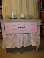 Shabby Chic Play Kitchen