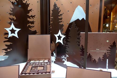 Vitrine La Maison du Chocolat - Paris décembre 2009